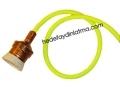 Luminous Yellow Fabric Cable