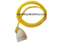 Yellow Fabric Cable