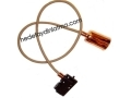 Beige Fabric Cable