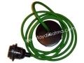 Yeşil Kumaş Kablo