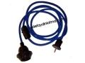 Dark Blue Fabric Cable