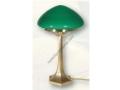 Yeşil Camlı Mantar Masa Lambası
