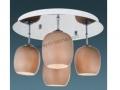 4lü Opal Camlı Tavan Armatür