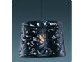 Siyah Renkli Oval Dekoratif Sarkıt