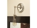 Chrome Polished Nickel Wall Sconce