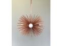 3-Bulb Copper Urchin Pendant Lighting