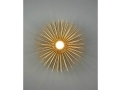 Gold Urchin Sconce Lighting