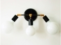 Triple Wall Sconce Fixture