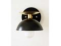 Black Gold Modern Sconce