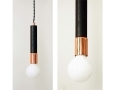 Modern Ceiling Light Copper Pendant