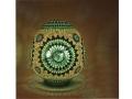 Yeşil Mozaik Masa Lambası