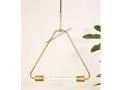 Triangle Brass Pendant