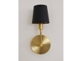 Single Brass Candelabra Sconce