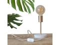 Marble Copper Table Lamp