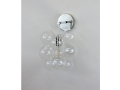 The Nickel Bubble Sconce
