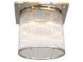 Oval Chrystal Ceiling Fixture