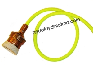 Parlak Sarı Kumaş Kablo