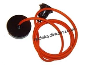 Turuncu Kumaş Kablo