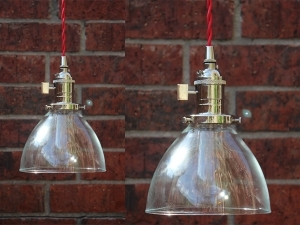 Industrial Pendant Light Chrome