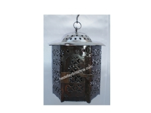 Home Patterned Lantern