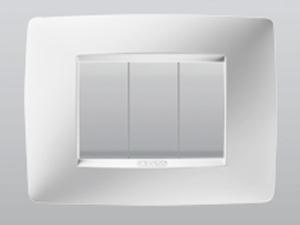 hedef lighting he go006 gewiss chorus one bianco latte. Black Bedroom Furniture Sets. Home Design Ideas