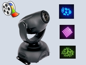 MINI MOVING HEAD Sese Duyarlı Sahne Efekti + Video