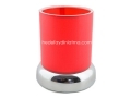 Kırmızı Abajur Masa Lambası