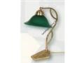 Yeşil Camlı Klasik Masa Lambası