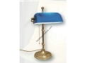 Mavi Kafalı Masa Lambası