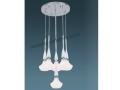 6lı Opal Camlı Dekoratif Sarkıt