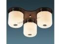 3lü Klasik Opal Camlı Tavan Armatürü