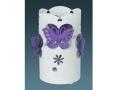 Kelebek Desenli Masa Lambası