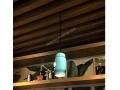 Turquoise Ceramıc Pendant
