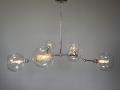 6-Globe Nickel Addison Chandelier Lighting