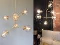 Brass Celeste Chandelier Lighting