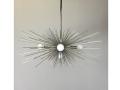 5-Bulb Silver Urchin Chandelier Lighting