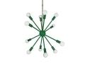 Kelly Green Spherical Sputnik Chandelier 24