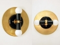 Sconce-Gold-Black-Wall-Fixture