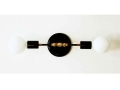 Double Wall Brass Sconce Lamp