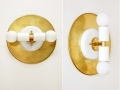Modern Double Wall White Sconce