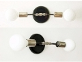 Double Nickel Sconce Lamp Wall Lighting Adjustable Sconce