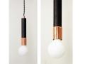 Modern Ceiling Light Copper Pendant
