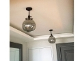 Ceiling Fume Globe Glass Fixtures