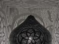 Maroc Mat Siyah Masa Lambası