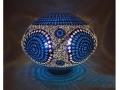 Mavi Halkalı Masa Lambası