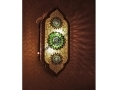 Yeşil Taş İşlemeli Mozaik Sarkıt
