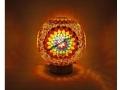 Mozaik Güneş Masa Lambası