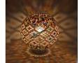 Gökkuşağı Mozaik Masa Lambası