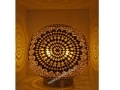 Kahverengi  Mozaik Masa Lambası