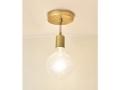 Modern Brass Pendant Light